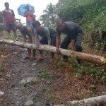 Plt Camat Botomuzoi Kabupaten Nias Hadiri Kegiatan Gotong Royong Di Dusun III Lolofaoso Desa Hiligodu