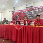 Anggota Fraksi PDI Perjuangan Sumut Kunjungi Peserta Pendidikan Politik & Kaderisasi
